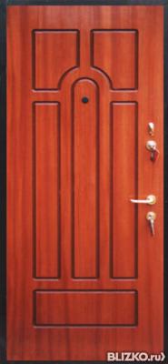 стальные двери броня российского производства с отделкой мдф с внешн