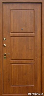 металлические двери мдф с фрезерованной отделкой
