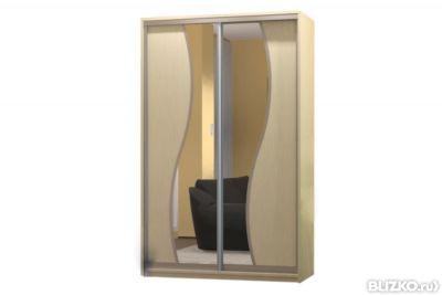 Шкафы-купе с зеркалом недорого от 9000 руб, бесплатная доста.