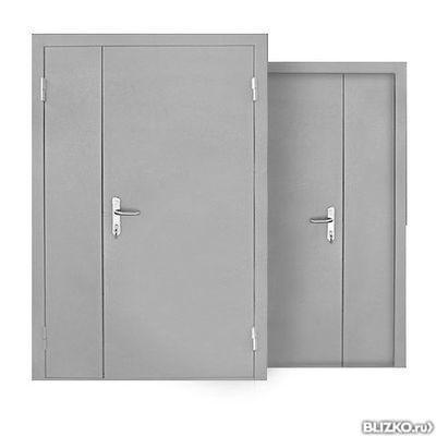 металлические двери двойная