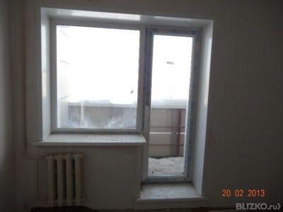 Балконный блок пвх 2050х2140 кирпичный дом в каменск-уральск.