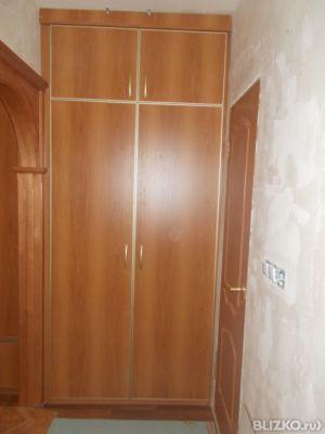 Комплект шкафов под лестницей, цвет туя от компании лика-меб.