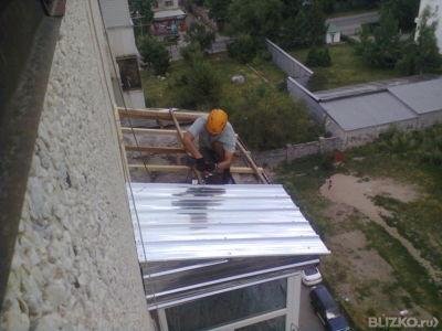 Ремонт балконной крыши - отделка / ремонт мичуринское на olx.