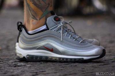 Мужские кроссовки Nike Air Max 97 Светло-серые от компании Страна ... fbef5703054