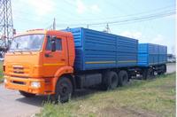 КАМАЗ 6511-42 бортовой зерновоз